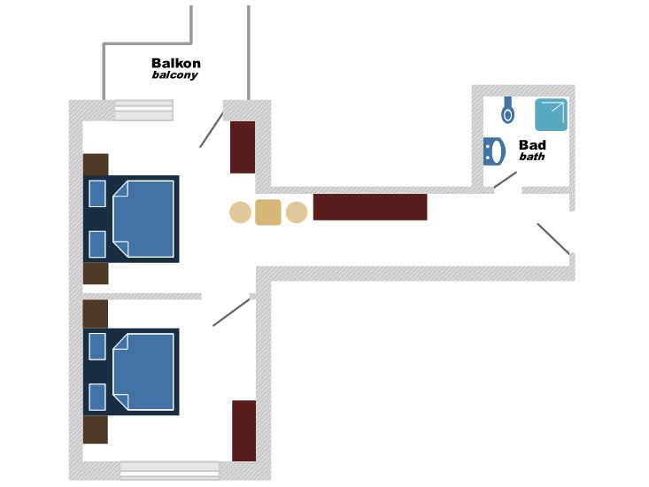 Plan Plan_4-Bettzimmer